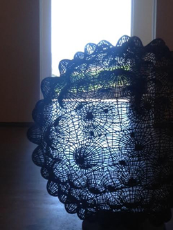 Bronwyn Oliver's sculpture at Tarrawarra Museum of Art