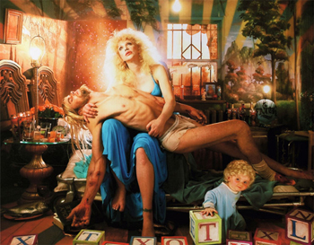 David LaChapelle's La Pieta with Courtney Love (2006)