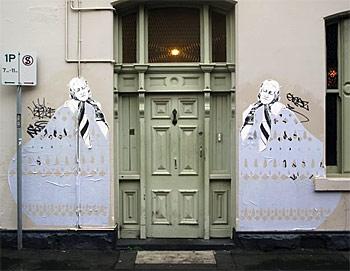 Miso's street art in Melbourne