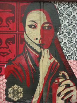 Shepard Fairey's artwork