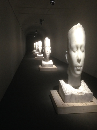 artwork by Jaume Plensa