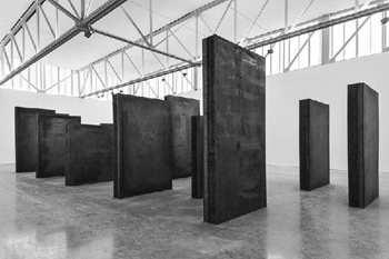 Richard Serra's exhibition at Gagosian, New York
