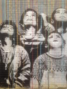 Street art in Williamsburg, Brooklyn, New York