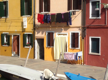 photo taken during a walk to art Venice tour